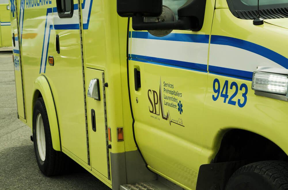 SPLL - Véhicule ambulancier (Photographe Vicky Brunoro-Laporte)