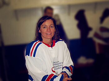 SPLL - Lise Goyer, présidente (hockey)